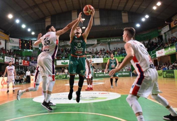 Kết quả hình ảnh cho Asociacion Quimsa Santiago vs Estudiantes Concordia basket